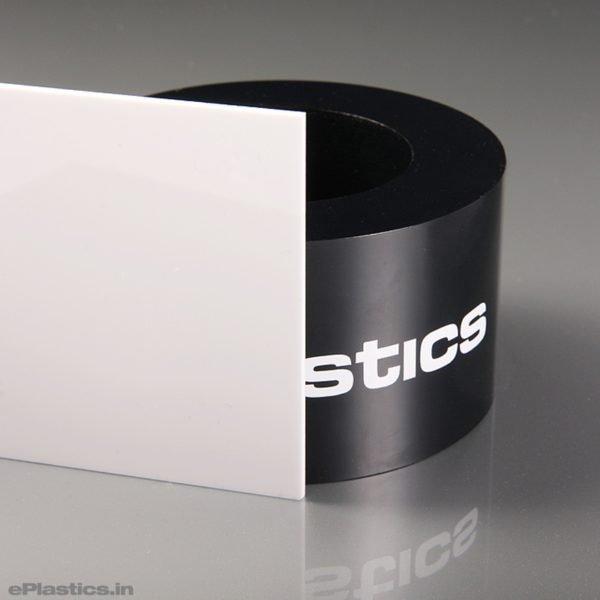 """10mm X 48"""" X 48"""" 7508 Acrylic Opaque White Sheet"""